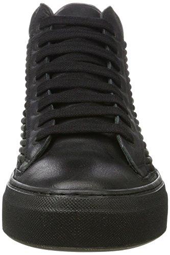 Karl Lagerfeld High Top, Baskets À Col Roulé Homme Noir (noir)