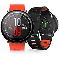 Xiaomi Amazfit PACE - Xiaomi Amazfit Smart Orologi, Orologi sportivi con GPS Bluetooth Smartwatch Touch screen Monitor battito cardiaco IP67 Impermeabile Versione inglese Rosso