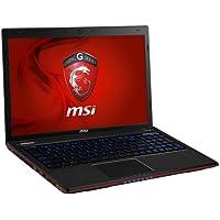 "Msi GE60 2OE-223XES - Ordenador portátil de 15.6"" (Intel Core i5-4200M, 4 GB de memoria RAM, 500 GB de disco duro, FreeDOS, Gaming), Negro - Teclado QWERTY español"