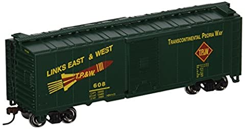 Bachmann Trains Toledo Peoria And Western 40' Box Car-Ho Scale