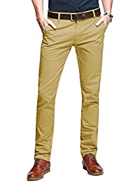 Match Pantalons Casual Slim Tapered pour Homme #8025