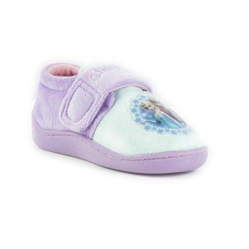 Frozen - Zapatillas de estar por casa de Material Sintético para niña, color, talla 33 EU
