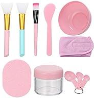 Face Mask Mixing Bowl Set DIY Facial Care Mask Face Mask Mixing Tool Sets Silicone Mask Bowl Face Mask Brush M