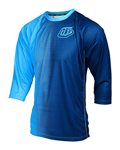 Troy Lee Designs Ruckus 50/50 Short Sleeve Jersey blue 2017 Short Sleeve Cycling Jersey