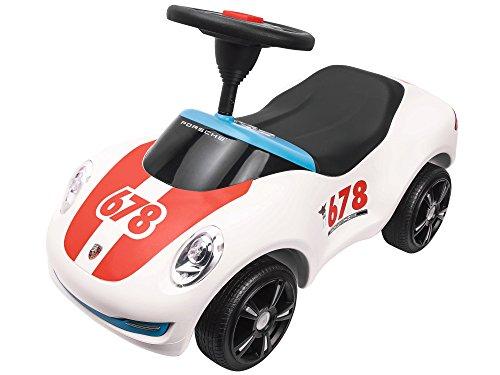 BIG 800056348 - Baby-Porsche Premium, Rutschfahrzeug, weiß
