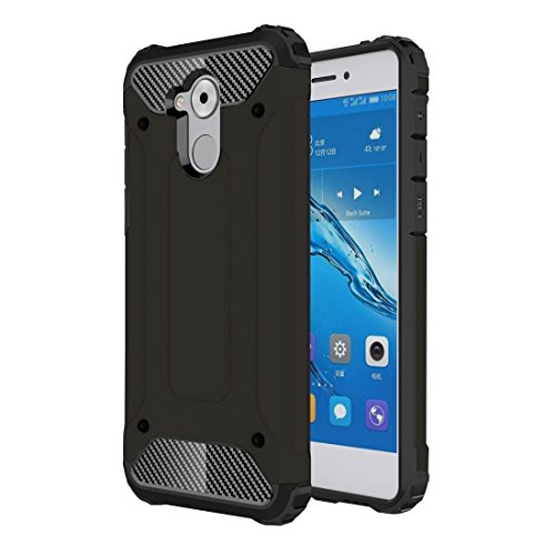 GHC Cases & Covers, für Huawei Enjoy 6s Rüstung TPU + PC Kombination Fall ( Color : Black ) (Iphone 5c Fällen Wie Speck)