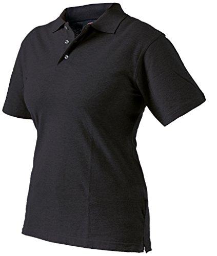 Dickies Damen-Polo-Shirt, 1 Stück, 34/36, schwarz, SH21600 BK L8 (Hose Uniform Dickie)