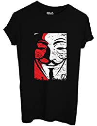 T-Shirt V For Vendetta Disobey - Film By Mush Dress Your Style