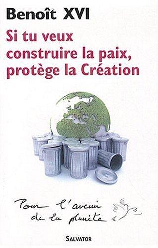 Si tu veux construire la paix, protège la création