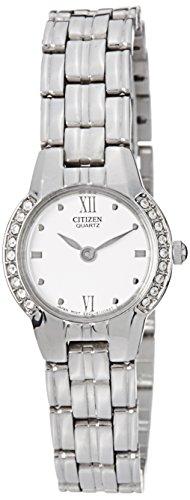 Citizen Analog White Dial Women's Watch EK1160-51A