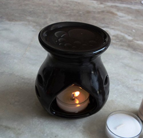 Pure Source India Regular ceramic aroma burner good quality coming with 1...