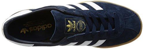 adidas Herren München Laufschuhe Blau (Collegiate Navy/Ftwr White/Gum)