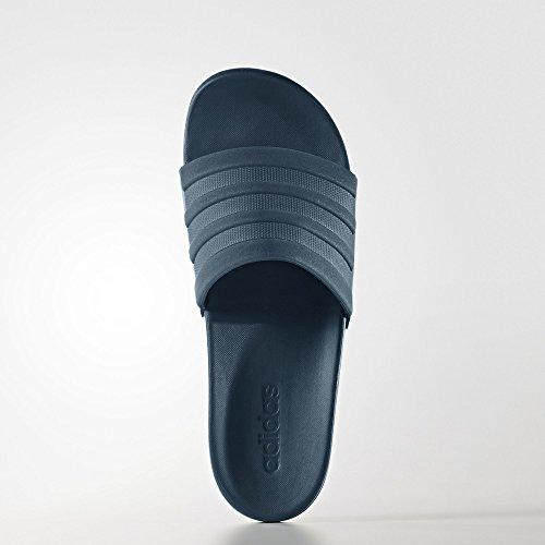 adidas Herren Adilette CF+ Mono Badeschuhe, 44.5 EU blau (Petnoc/Petnoc/Petnoc)