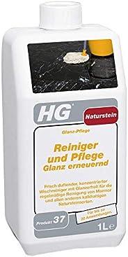 HG Natuursteen reiniger en verzorging glans vernieuwend (glansverzorging) 1 l – is een natuursteenreiniger voo