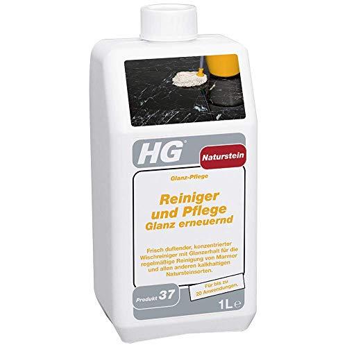 HG Naturstein Reiniger und Pflege Glanz erneuernd (Glanz-Pflege) 1L - ist ein Naturstein-Reiniger für die Marmor- und Natursteinpflege