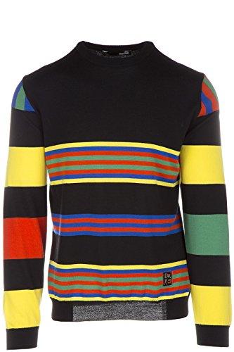 Love Moschino maglione maglia uomo girocollo nero EU M (UK 38) M S 4U1 00 X 0478 40