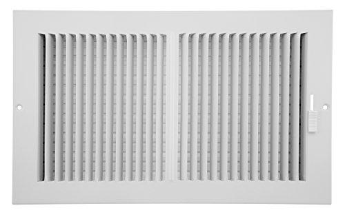 Accord abswwh2148Seitenwand/Deckenleuchte Register mit 2-Wege-Design, 35,6cm x 20,3cm (Duct Öffnung Messungen), weiß