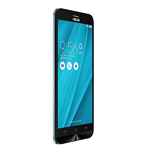 Asus ZB552KL-6K004WW ZenFone Go 13,97 cm (5,5 Zoll) (1280 x 720 pixels, Qualcomm Snapdragon, 410, Internal RAM 2GB, 16GB, microSD up to 128GB, Dual SIM, 3G/4G, 13MP Kamera, Android, 6.0, 3000mAh) blau