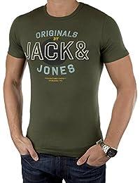 Jack & Jones Herren T-Shirt JJORSLICK TEE, Slim Fit