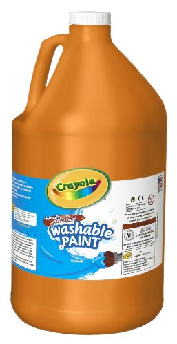 WASHABLE PAINT  ORANGE  1 GAL