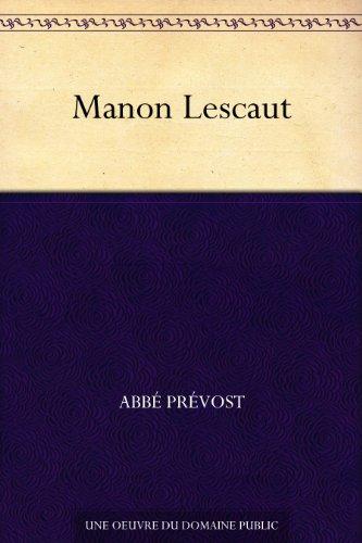 Manon Lescaut (French Edition) eBook: Prévost, Abbé: Amazon.es ...