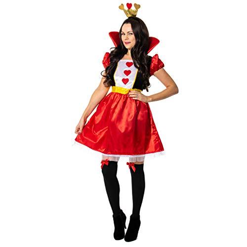 sowest Herzkönigin (Alice Und Wunderland Herzkönigin Kostüm)