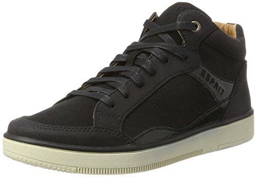 ESPRIT Damen Desire Bootie Hohe Sneaker, Schwarz (Black), 36 EU