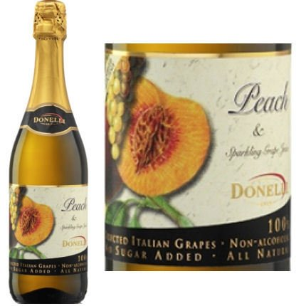 Donelli Sparkling Non-Alcoholic Grape Juice (Red, 750 ml)
