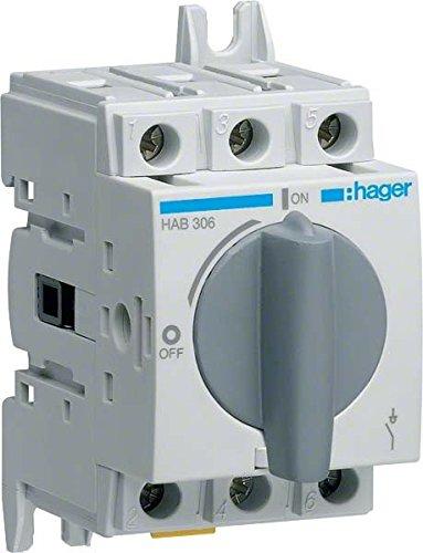 Preisvergleich Produktbild Hager HAB304 Lasttrennschalter+Trennungs anz.3P 40A