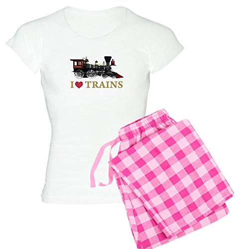 cafepress-i-love-trains-womens-light-pajamas-womens-novelty-cotton-pajama-set-comfortable-pj-sleepwe