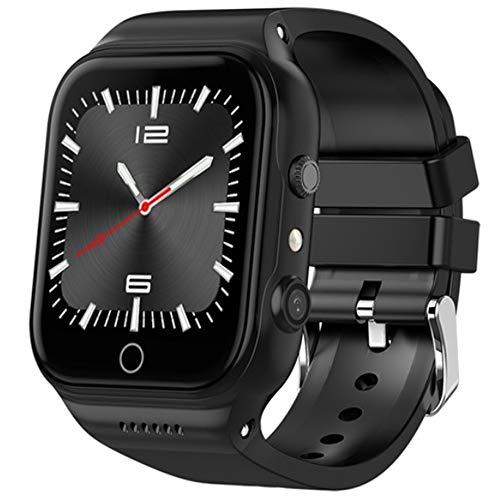 Linbing123 3G GPS-Kamera Smart Watch, Smartwatch für Android Phones, Waterproof Smart Wrist Watch Touchscreen mit Camera Bluetooth Watch Cell Phone WiFi bidirektionale Positionierung,002