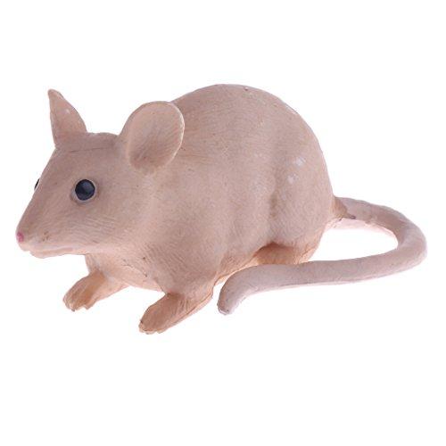 Sharplace Realistische Tier/ Insekt Spielzeug Tierfigur Dekofigur Spielzeug Wohnkultur Sammlung - Maus