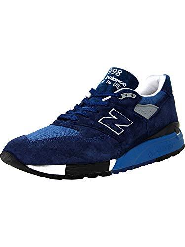 New Balance Herren in den USA ML998V1 Classics Schuhe, 47.5 EUR - Width D, Blue/Deep Water