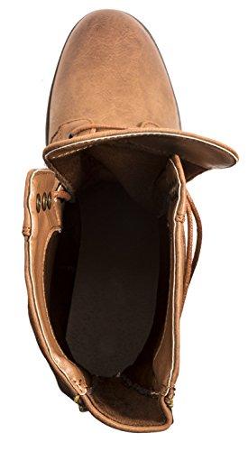 Elara - Stivali da Motociclista Donna Braun Chicago