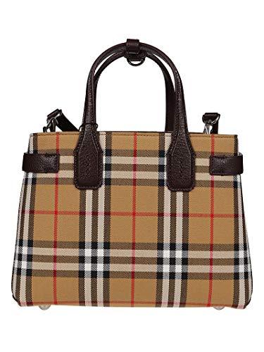 BURBERRY Damen 4076950 Beige Baumwolle Handtaschen