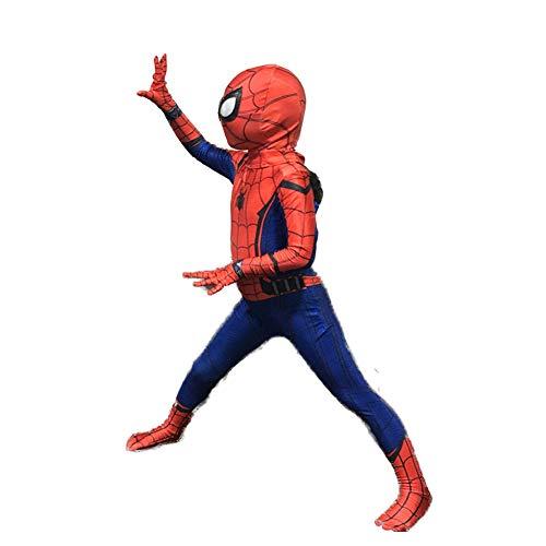 Cosplay Kostüm Fernando Guapo Fashion 3D Bedruckte Kinder Spiderman Spiderman Superhelden Linsen Spandex Zentai Jumpsuit mit Maske für Halloween-Party etc, XL:Suitabel for Height 135-145cm