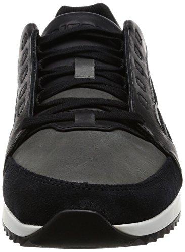 Diesel Herren Y01461 Sneaker, Schwarz Schwarz