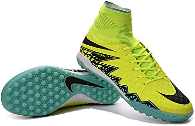 yurmery Schuhe Herren Fußball gelb hypervenomx Proximo TF Fußball Stiefel