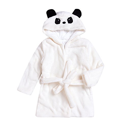 Yumimi88 Baby Badetuch mit Kapuze Jungen Mädchen Robe Cartoon Panda Handtuch Duschtuch Kleid Kinder Kapuzenhandtuch Kleidung (0-24 Monat, - 4t-kapuzen-handtuch