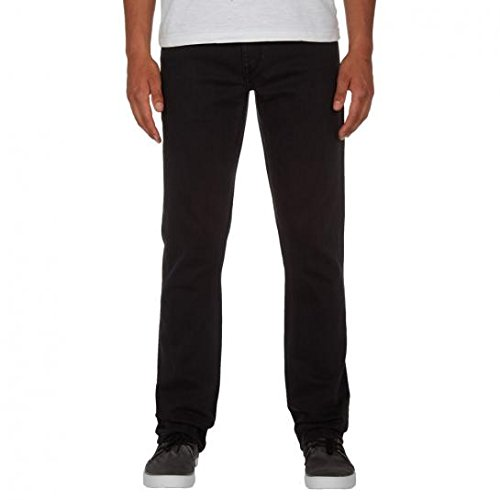 Volcom Vorta Jeans, Man, Black (Ink Black), 34