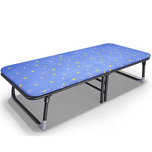 Klappbett Massivholz Bett Mittagessen Bett Bett Büro Nap Stuhl Einfaches Bett Taille Schutz, Wirbelsäule, Rollover, Fold-Free Installation