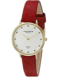 Akribos XXIV Reloj con movimiento cuarzo japonés Woman AK882BUR 28 mm