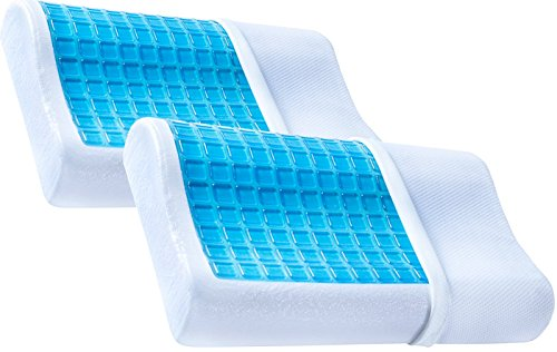 2-pack-pharmedoc-contour-memory-foam-pillows-with-cooling-gel-and-removable-case-firm-and-comfortabl