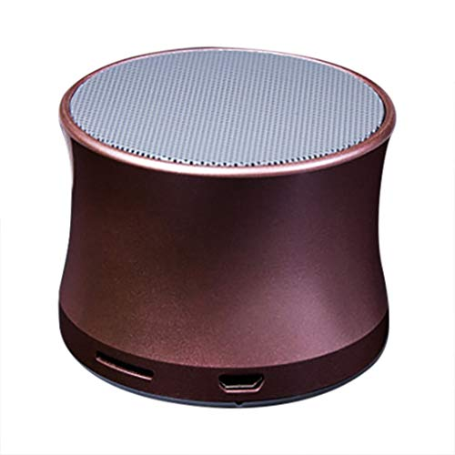 LRWEY Portable Wireless Bluetooth Speaker Mini Stereo Subwoofer TF Card Outdoor für iPhone, Samsung usw.