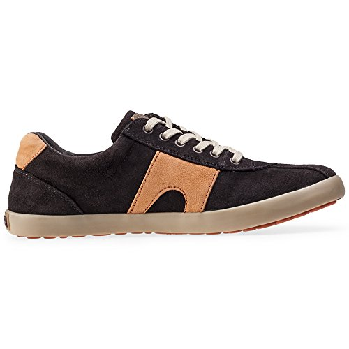 Camper Hommes Dark Marron Pursuit Suède Basket Dark Marron