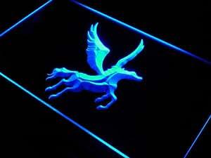 Enseigne Lumineuse j404-b PEGASUS Horse Display Home Decor Neon Light Sign