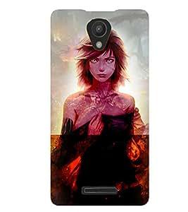 Fuson 3D Printed Girly Designer back case cover for Xiaomi Redmi 3S - D4622