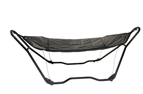 Bo-garden - Hamac - Deluxe complet - rembourré - Noir