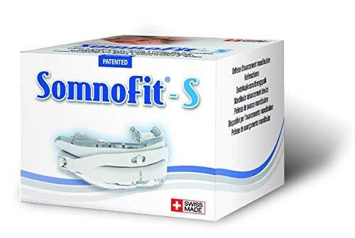 Schnarchstopper Somnofit-S - Anti-Schnarchschiene - Top-Lösung gegen Schnarchen Made in Switzerland - eine hervorragende Alternative zu Schnarch-Mundstücken, Nasenklammern & Nasenpflastern