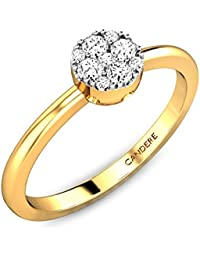 Candere By Kalyan Jewellers By Kalyan Jewellers Gold And Diamond Ring For Women